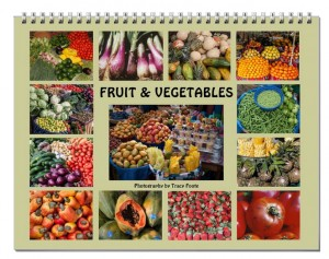 Fruit and Vegetable Wall Calendar 2017 - 2017