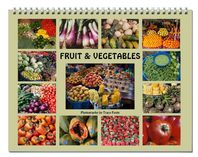 fruit    vegetable calendar 2017
