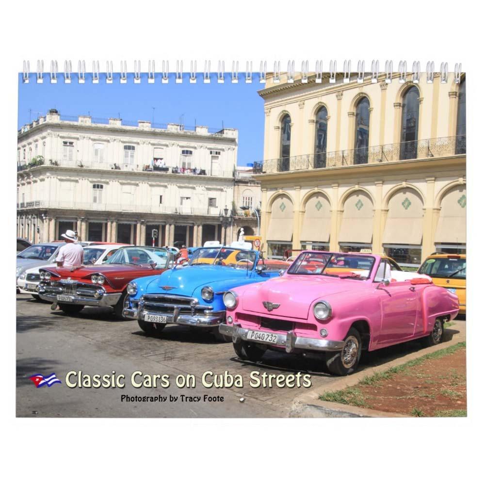 Cuba American Classic Car Calendar 2017
